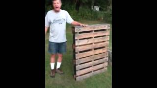 How To Make A Pallet Planter