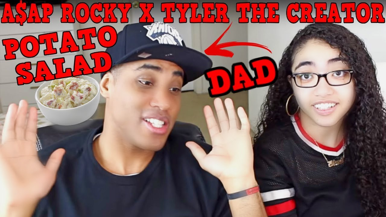 MY DAD REACTS TO A$AP ROCKY X TYLER THE CREATOR - POTATO SALAD REACTION