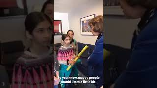 Feinstein Gets Confrontational With Children Asking Her to Support Green New Deal