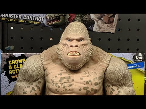 Rampage Movie Toys Spotted At Walmart Youtube