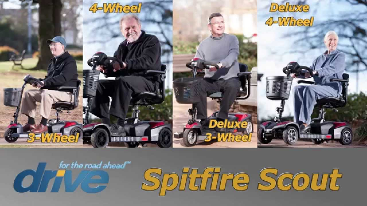 Drive Medical - Scout Scooter Line