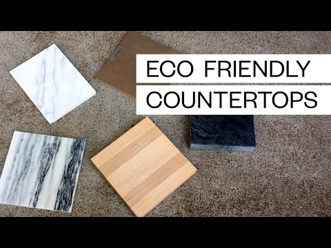 5 ECO FRIENDLY COUNTERTOPS - BEAUTIFUL AND ETHICAL TOO   Conscious Consumerism   Slow Living