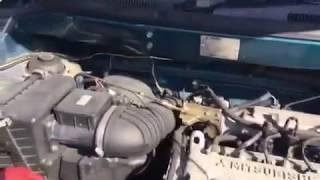 Тест двигателя  4G63