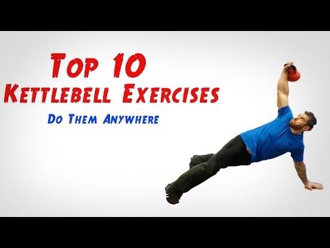 Top 10 Kettlebell Exercises