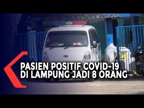Pasien Positif Covid-19 Lampung Menjadi 8 Orang