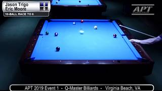2019 Event 1: Jason Trigo vs Eric Moore (no audio)