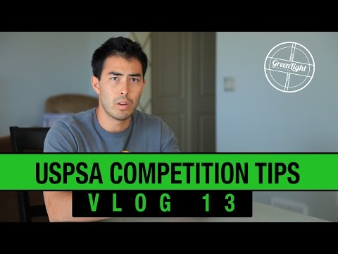 USPSA Competition Shooting Tips And Advice - GLS Vlog #13