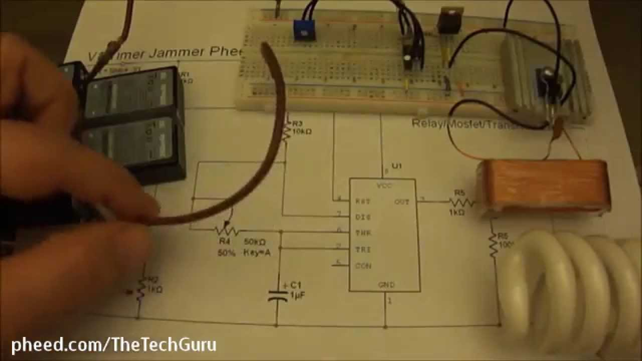 Electromagnetic Pulse Generator Plans Great Installation Of Wiring 555 Circuit Emp Jammer Youtube Rh Com Keysight Motorcycle