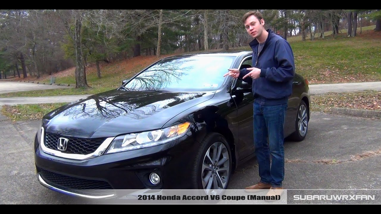 Review 2014 honda accord v6 coupe manual youtube - 2014 honda accord coupe review ...