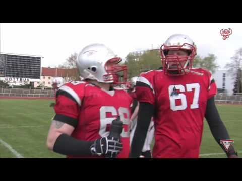 Cottbus Crayfish vs. Radebeul Foxes 23.04.2017 American Football