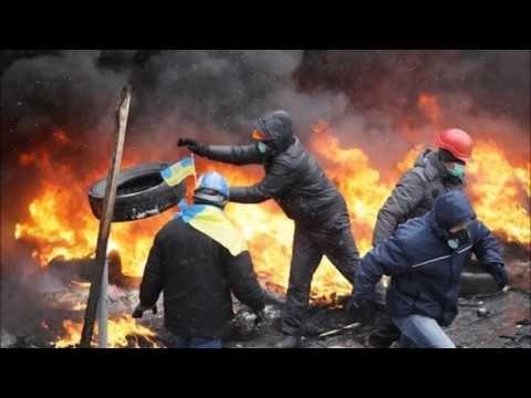 European Majdan in Kyiv of the Ukraine - War of FREEDOM hit