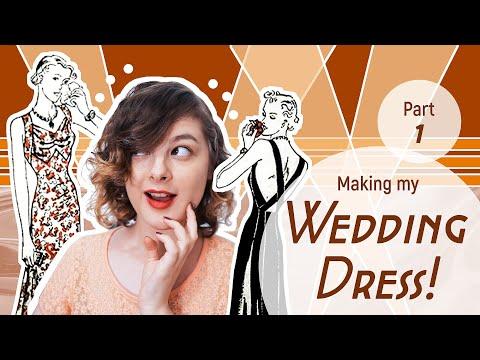 Making My Wedding Dress! (Part 1). http://bit.ly/2wu7b9S