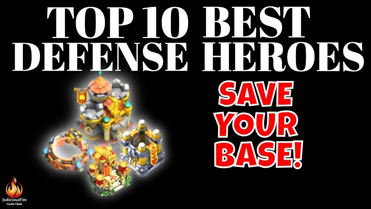 Castle Clash Best Heroes 2021 Castle Clash TOP 10 Best Heroes SUPPORT HEROES   YouTube