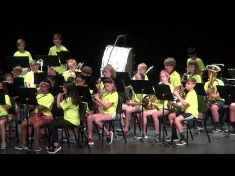 Oakville Middle School Beginner Band May 18, 2018