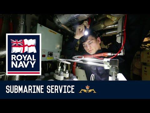 Royal Navy Marine Engineer (Submariner)