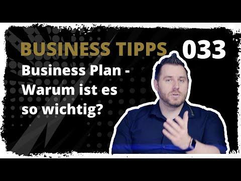 business tipps #033: Business Plan - Warum ist es so wichtig?