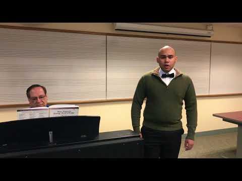 HL Art Song 2018 | Orlando Montalvo Avalo