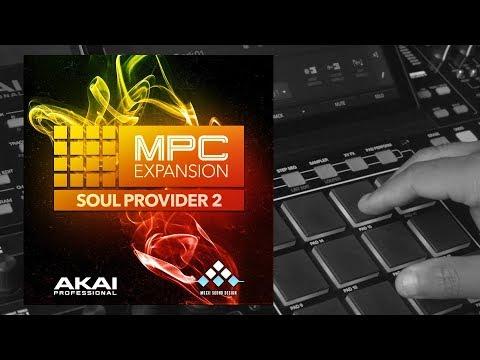 Akai Soul Provider 2 MPC Expansion Demo - YouTube
