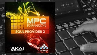 Akai Soul Provider 2 MPC Expansion Demo