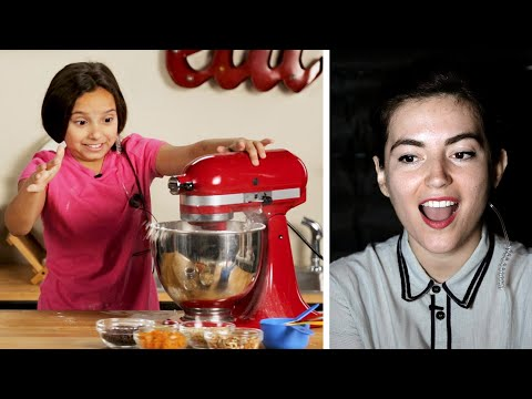 Can This Kid Follow A Cookie Recipe With Only Verbal Instructions? • Tasty