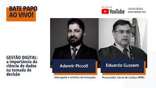 GESTÃO DIGITAL MPRJ | BATE PAPO | JUDICIÁRIO EXPONENCIAL