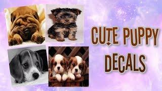 Roblox Bloxburg - Cute Puppy Decal Id's