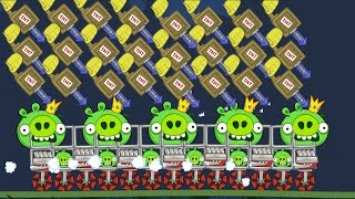 Bad Piggies - EXTREME CRUISE MISSILE LAUNCHER ON KING PIG!!
