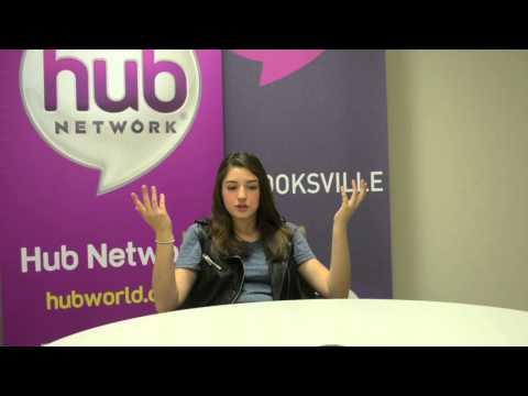 TI Exclusive: Morgan Taylor Campbell at the HUB Network Studios