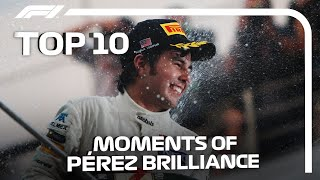 Top 10 Moments Of Sergio Perez Brilliance