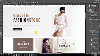 Web Design Bangla Tutorial | Part-41 | PSD to HTML (1)