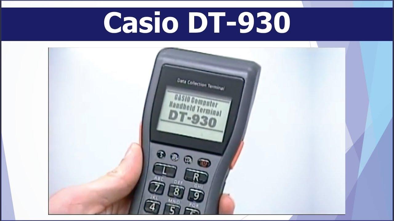 CASIO DT 930 CRADLE WINDOWS XP DRIVER