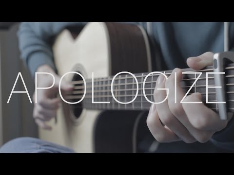 One Republic - Apologize - Fingerstyle Guitar Cover By James Bartholomew