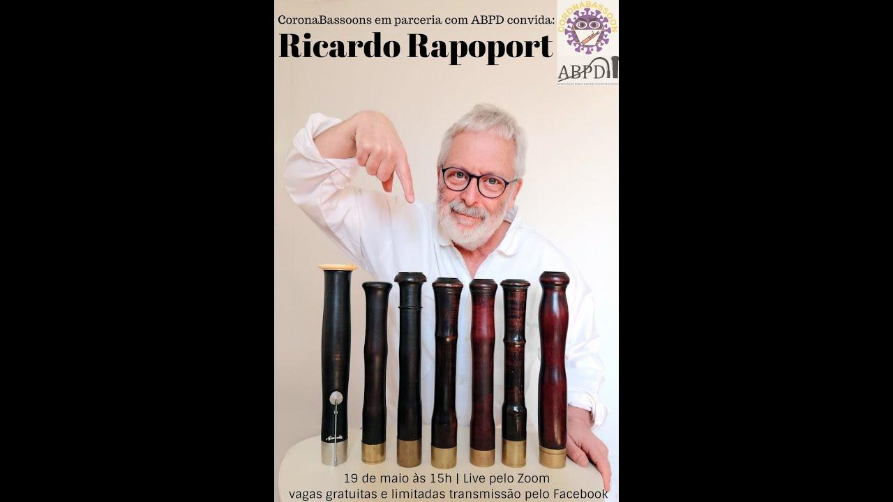 Live com o professor Ricardo Rapoport