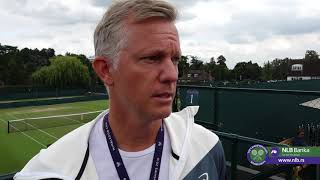 Tomas Johanson o Finalu Vimbldona Između Đokovića i Federera   SPORT KLUB TENIS