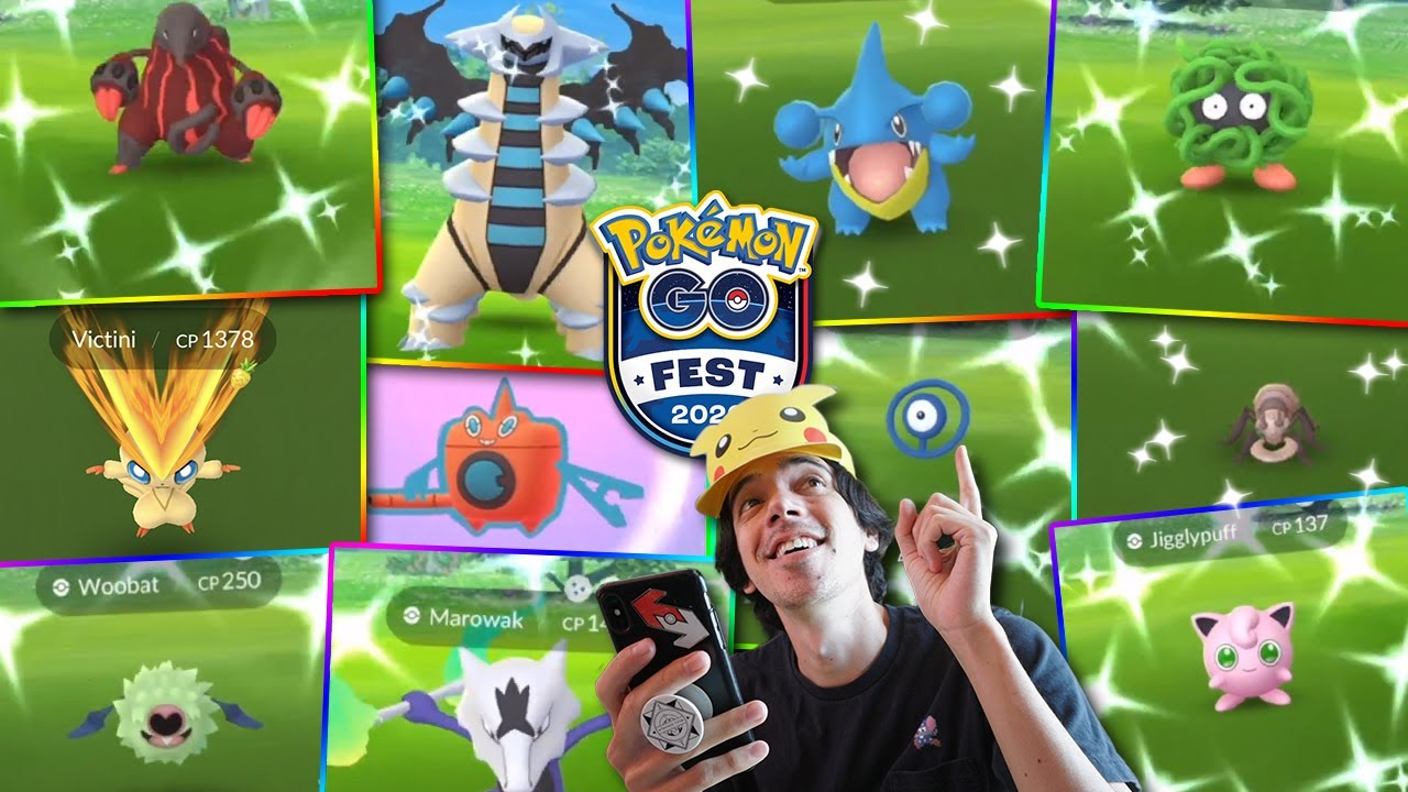 GO FEST 2020 WAS AMAZING! FULL HIGHLIGHTS 15+ SHINIES! (Pokémon GO Fest At Home 2020)