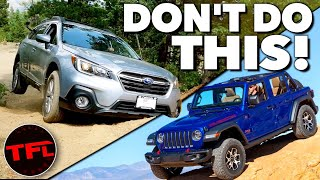 Never Lift a Subaru - No, You're Wrong and Here's Why!
