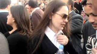 شريهان في ميدان التحرير