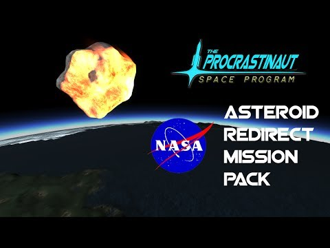 Kerbal Space Program - N.A.S.A Asteroid Redirect Mission pack