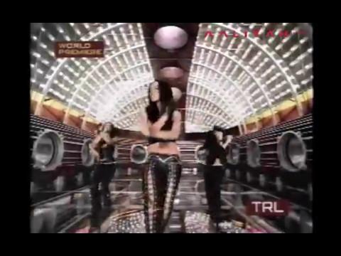 Aaliyah - More Than A Woman TRL Premiere