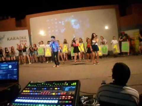Apertura karaoke 2016 (20 Años) . Colegio Nacional Cerrito Entre Ríos