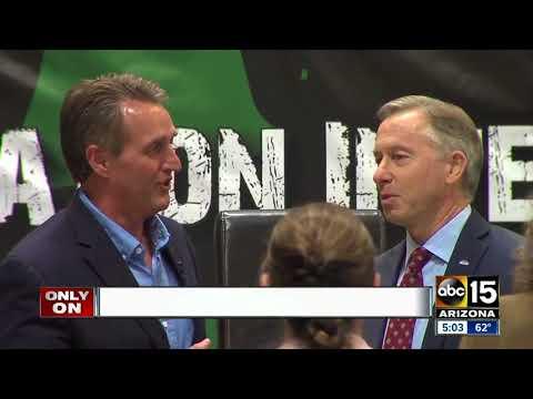 Hot mic catches Sen. Flake weighing in on GOP