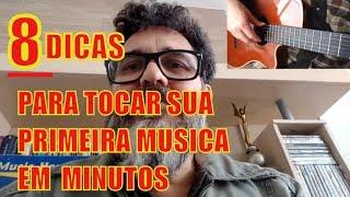 Baixar 8 DICAS INFALÍVEIS PARA TOCAR A PRIMEIRA MUSICA EM MINUTOS. AULA DE VIOLÃO PROF CLÓVIS