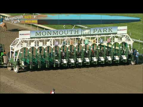 video thumbnail for MONMOUTH PARK 10-21-20 RACE 7