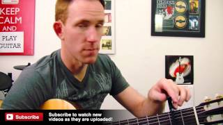 NS Artist Capo Review - Planet Waves D'addario - Guitar Gear Demo(, 2014-03-13T00:05:45.000Z)