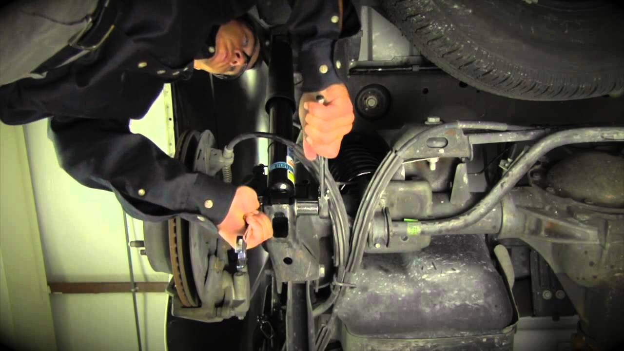 Convert GM SUV Electronic Autoride Suspension to an Arnott Coil Conversion Kit  YouTube