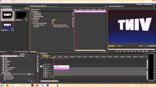 Вращение повороты наклоны текста и объектов в Adobe Premiere Pro CC Урок