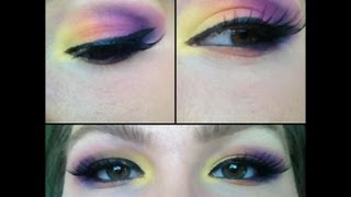 dramatic spring eye tutorial Thumbnail
