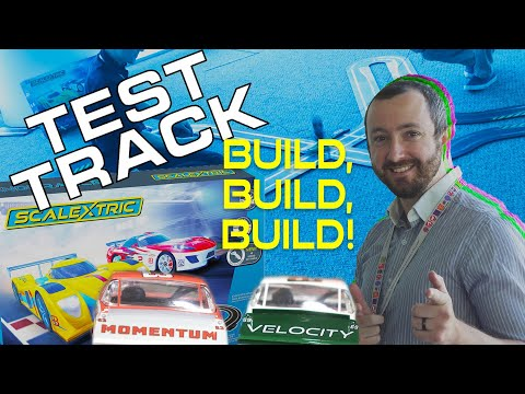 Scalextric | Test Track Ep.2 – Build, Build, Build!