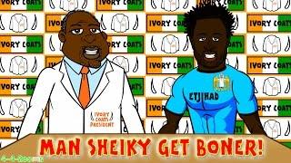 bony signs for man city transfer news defoe sunderland ivory coast football cartoon