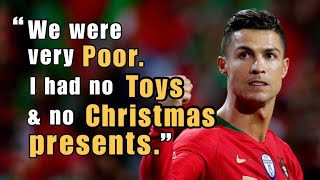 Motivational Success Story of CRISTIANO RONALDO - How He Is An Inspiration To Us All
